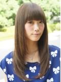 美髪レイヤーストレート