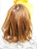 女子力向上ミディアムヘア