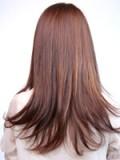 前髪カールストレート