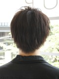黒髪爽やかショート