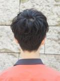 黒髪マッシュレイヤー
