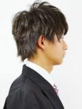 TAKAHIRO風ミディアムショート