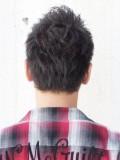 黒髪ワイルドベリーショート