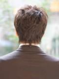 大人のお洒落ビジネスショートヘア