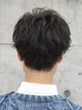 人気メンズショートマッシュヘア