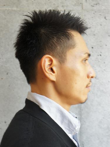 ワイルドベリーショート メンズ ビジネス ビューティーboxヘアカタログ