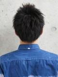 黒髪ベリーショート