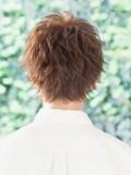 男を上げる束感クールショートヘア