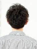 人気急上昇強めパーマヘア