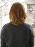 少し軽めの春髪ボブ
