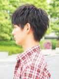 黒髪オリジナルショート