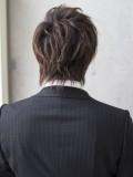 スーツが似合うビジネスショート