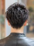 クラウドマッシュ×黒髪ショート