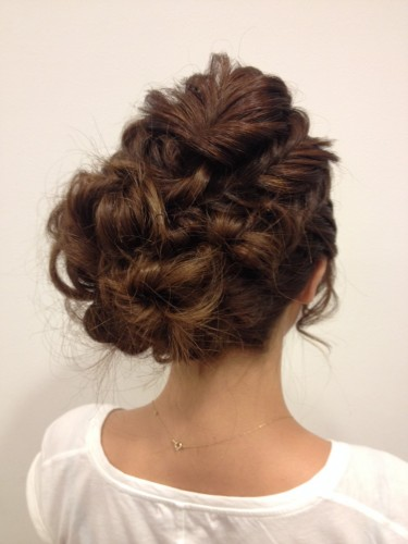Romantic Twist Braid Hair