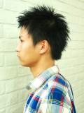 黒髪フレッシュショート
