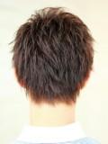 前髪短めナチュラルショート