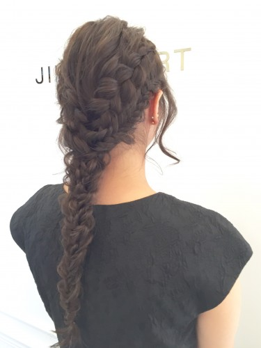 Romantic Braid Updo