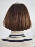 くせ毛でも簡単!王道グラデーションボブ ショートスタイル