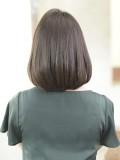 艶髪ミディアムボブ