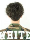 男髪最先端『ウェットバブルマッシュ』