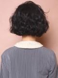 大人なちょっとの前髪で作るフレンチボブ