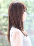 髪の毛がキレイに見えるシンプルストレート