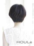 黒髪ナチュラルショート