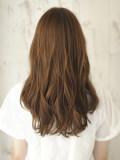 大人かわいいゆる髪ウェーブヘア