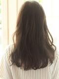 黒髪ナチュラルロング