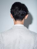かき上げ前髪でもセクシーなショート