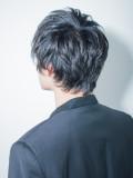 大人セクシー黒髪ショート