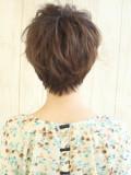 クシャっと可愛いショートヘア