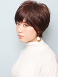 「カジュアル×エフォートレス」ショートヘア