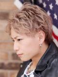 【三代目 JSB 登坂広臣さん風】×スパイラルパーマ×ハイトーン