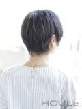【大人可愛い】×【小顔ショート】