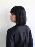黒髪レイヤーボブ