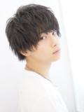 【くずし髪】ソフトミディショート