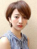 美シルエット☆大人のショートボブ