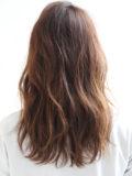 短め前髪の抜け感ロング
