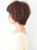 上品なツヤ髪ショートヘア
