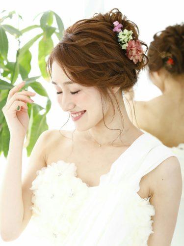 花嫁ルーズアップ