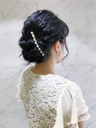 結婚式二次会ヘアアレンジ☆