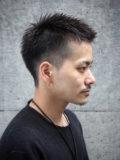 メンズヘア・刈り上げベリーショート
