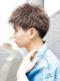 モテ髪☆ ツーブロックアップバングショート