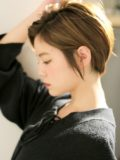 biotokyo-髪型-2020-0202-沖島-ヘアスタイル-大人-ショート-ショートボブ-ハンサム-流行-オーガニック-organic-オシャレ-トウキョウ-ボヘミアン-美容室-美容院-青山一丁目-外苑前-東京