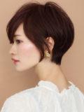 ☆30代、40代☆横顔美人ショート  簡単スタイリング (広末涼子さん風)