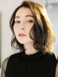 biotokyo-髪型-2020-1101-沖島-ヘアスタイル-大人-ミディアム-パーマ-ハンサム-流行-オーガニック-organic-オーガニックカラー-オシャレ-トウキョウ-ボヘミアン-美容室-美容院-青山