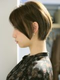 biotokyo-髪型-2020-1105-沖島-ヘアスタイル-大人-ショート-ショートボブ-ハンサム-前髪なし-流行-オーガニック-organic-オーガニックカラー-オシャレ-トウキョウ-ボヘミアン-美容室