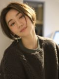 biotokyo-髪型-2020-1206-沖島-ヘアスタイル-大人-ショート-ボブ-パーマ-ハンサム-前髪なし-流行-オーガニック-organic-オーガニックカラー-オシャレ-トウキョウ-ボヘミアン-美容室-