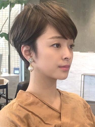 フレンチショート/大人ショート/30代・40代/宮沢りえスタイル